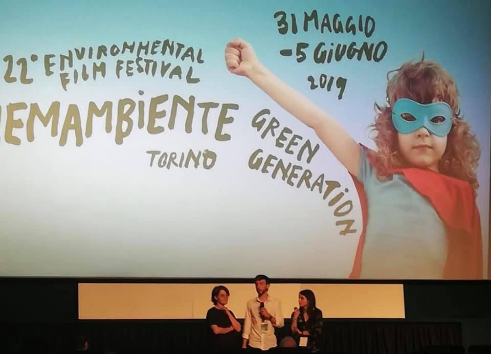 MENZIONE SPECIALE CINEMAMBIENTE  TORINO 31.05.2019