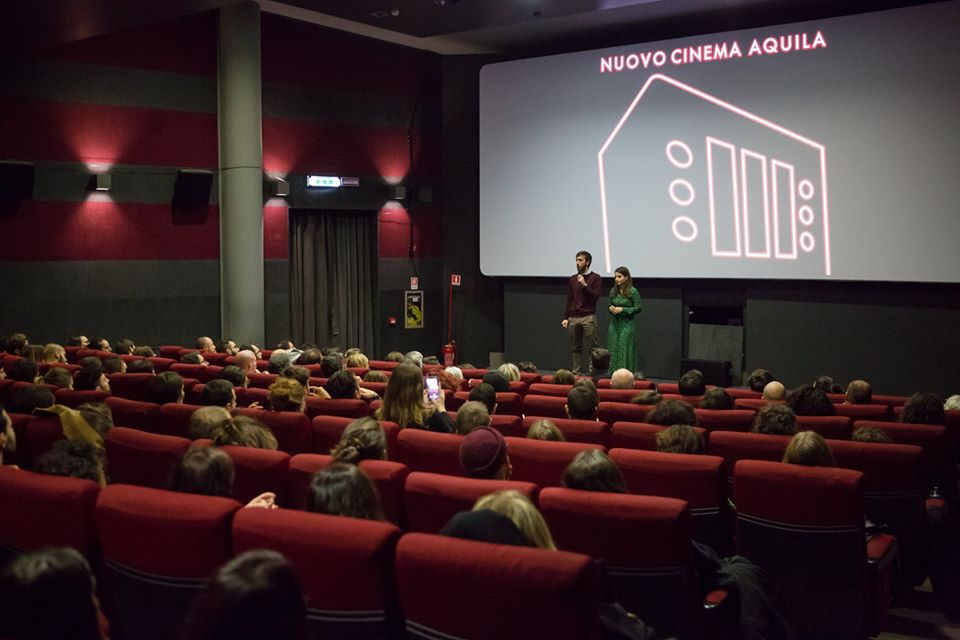 SOLD OUT NUOVO CINEMA AQUILA ROMA 25.11.2019