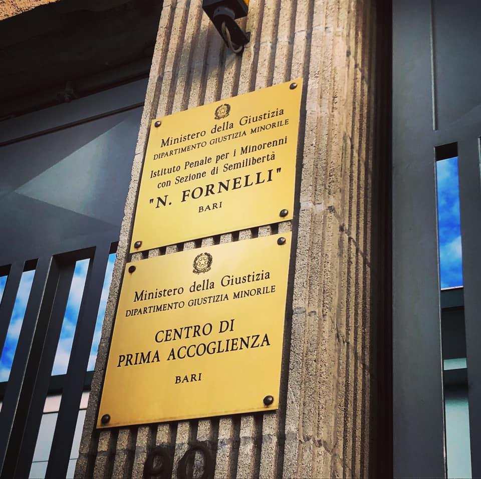 CARCERE MINORILE NICOLA FORNELLI